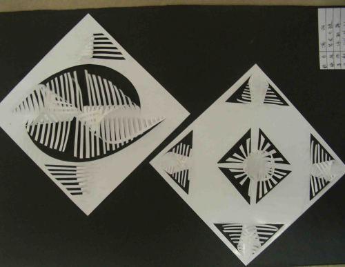 """说好听点是""""立体构成""""其实就是折纸一帮"""