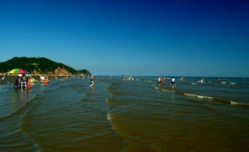大鹿岛月亮湾海滩