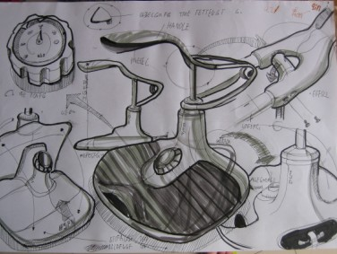 工业产品设计图展示