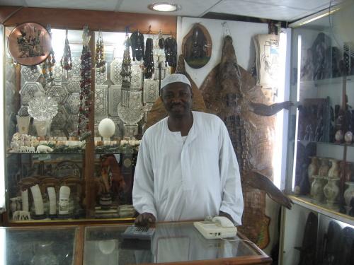 苏丹黑木工艺品-梦舞非洲