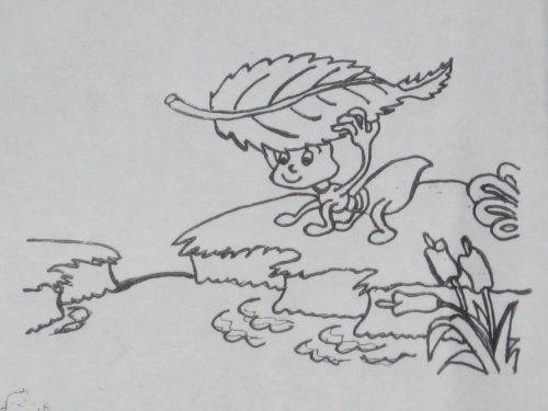 可爱简笔画小蚂蚁