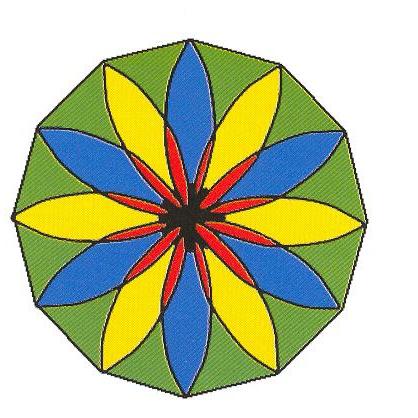曼荼罗编织步骤图