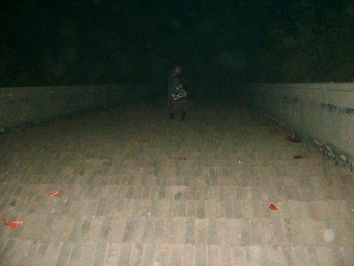 夜探北朝天子陵:神秘的水声台阶