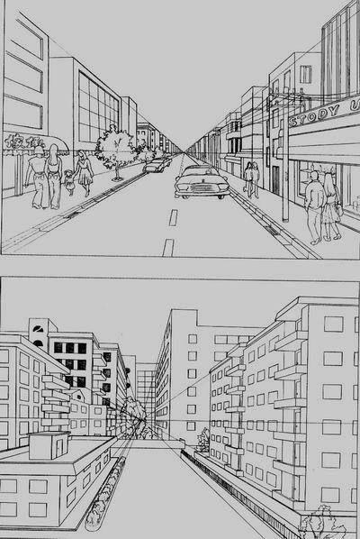 (如下图) 分享到:              练习一:画平行透视的正方形