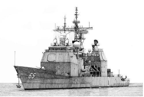 海军儿童画