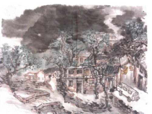 写生小品-李中伟国画艺术-搜狐博客