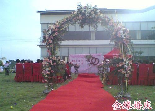 乡下婚庆布置效果图