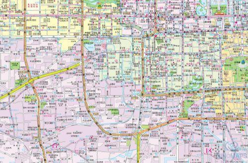 绘画圆明园地图小报