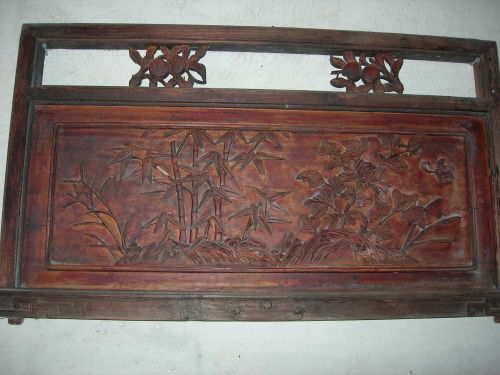 木雕张国老的造型
