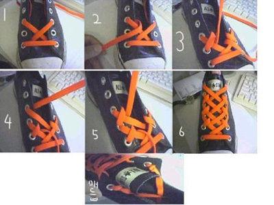 韩国鞋带时尚新系法
