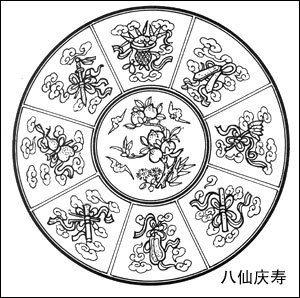 中国传统吉祥寓意图案(三)