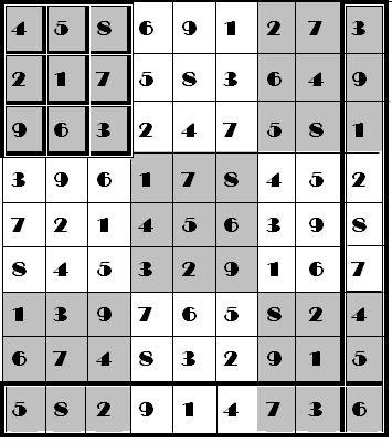 """游戏规则极为简单,一个""""数独""""谜题会事先在迷宫里填制部分数字,你"""