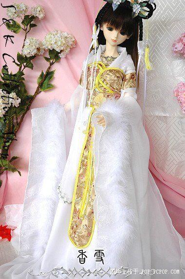 中国版古装芭比娃娃