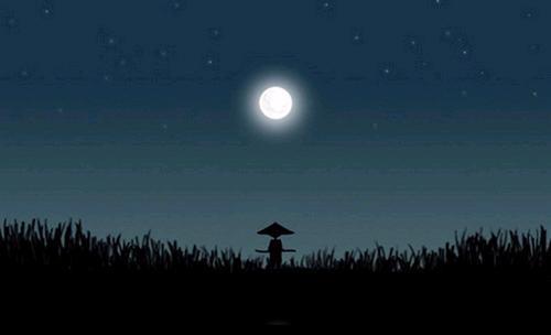 一个有月亮的晚上……我们也许没赶
