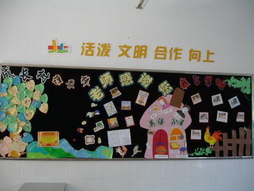 书香校园黑板报花边简单又漂亮
