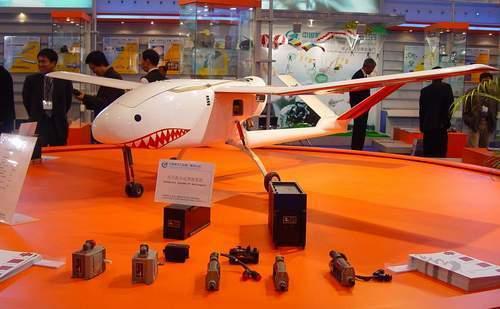 中国aw4鲨鱼Ⅱ无人驾驶飞机
